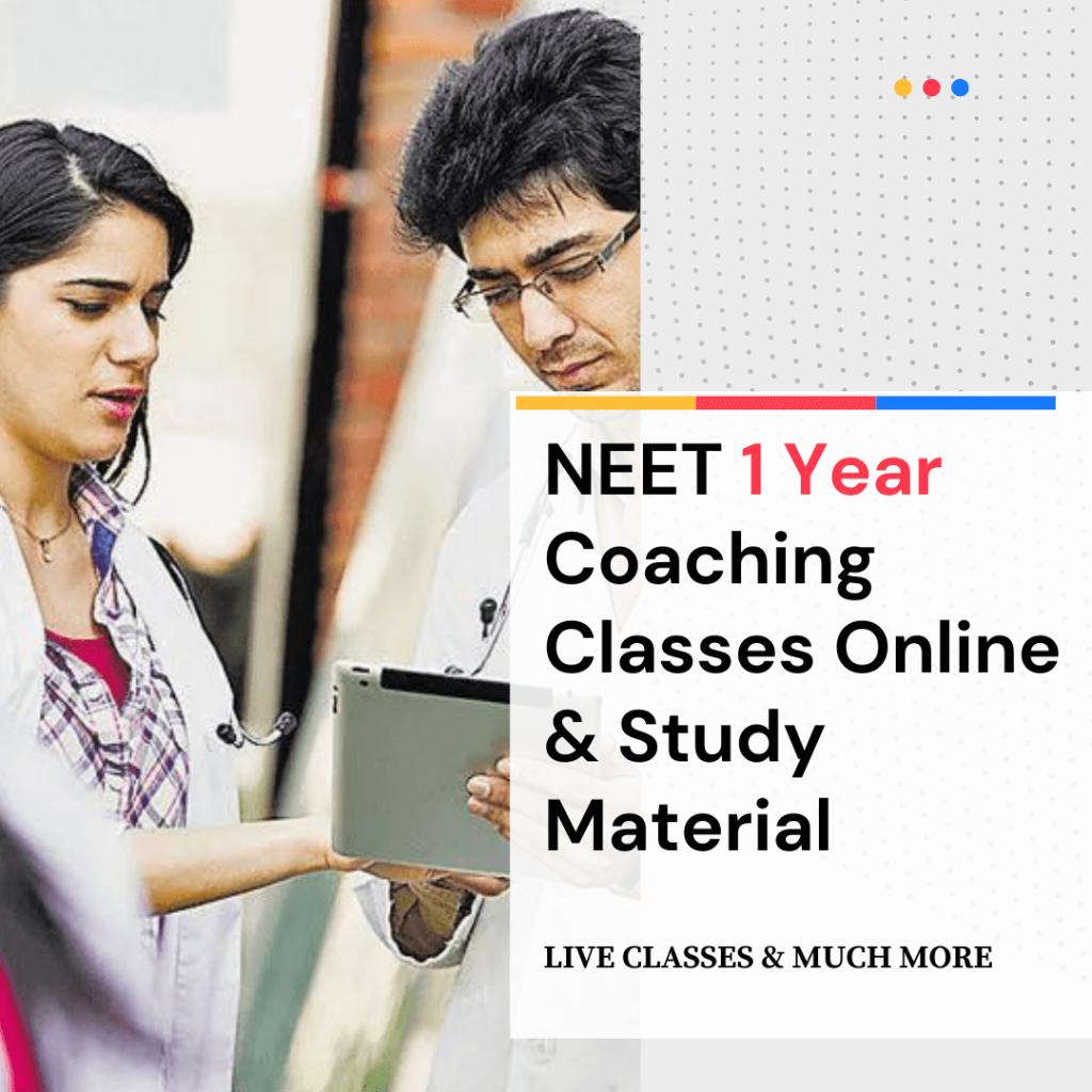 NEET 1 year coaching coursesancourses