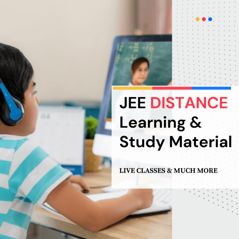 JEE Distance Learning Programme
