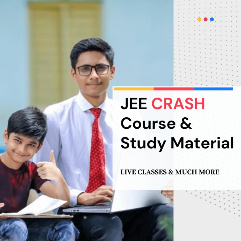 JEE Crash Course