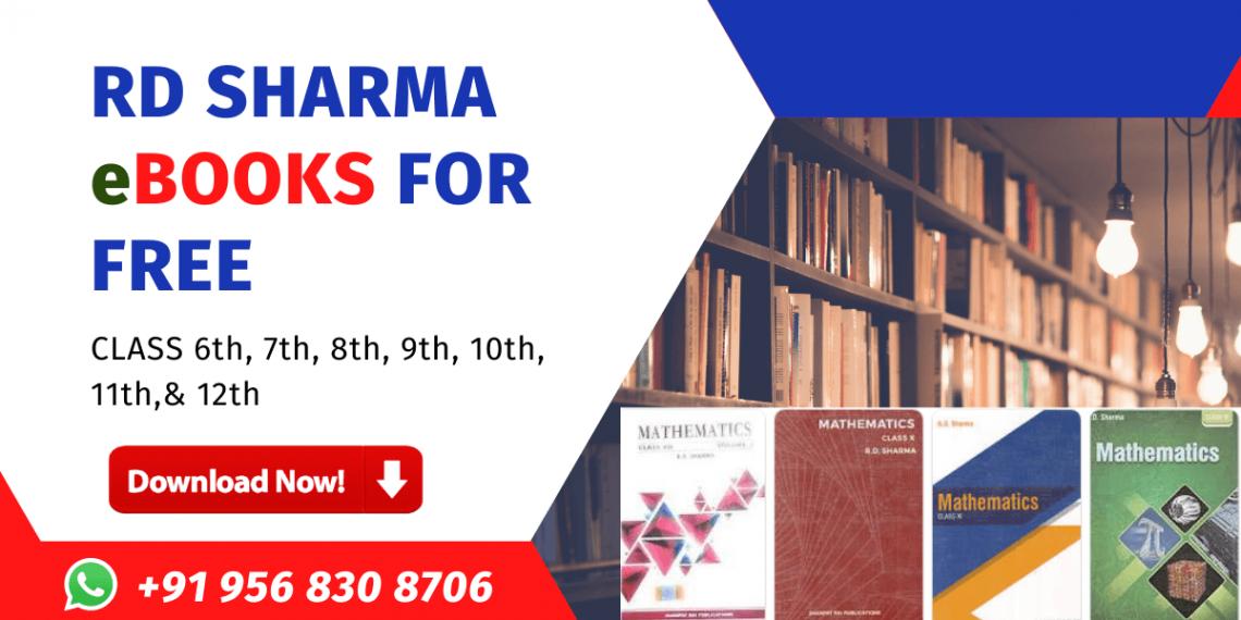 RD Sharma Books download